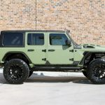 2019 jeep wrangler unlimited jl army green kevlar right side angle