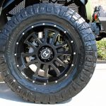 2019 jeep wrangler unlimited jl 20×10 Hostile Wheels Gauntlet in black 37x12.50R20 Nitto Ridge Grappler tires