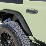 2019 jeep wrangler unlimited jl DV8 slim fenders rear FDJL-02