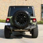 2019 jeep wrangler unlimited jl army green kevlar rear angle