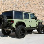 2019 jeep wrangler unlimited jl army green kevlar right rear angle
