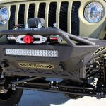 2020 Jeep Gladiator JT kevlar add offroad front bumper smittybilt winch rigid industries led rds light bar