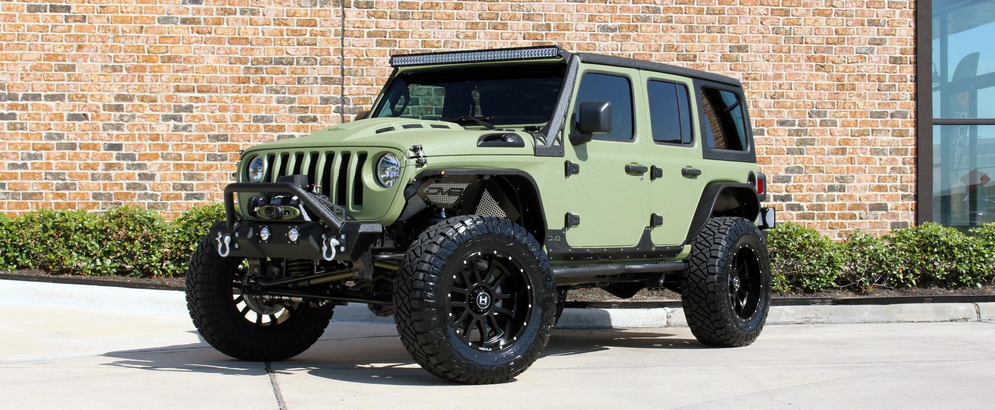 2019 jeep wrangler unlimited jl army green kevlar