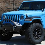 2019 Black & (Grabber) Blue Kevlar® JL Jeep