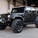 black 2016 jeep wrangler unlimited jk left front angle