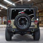 green kevlar 2014 jeep wrangler unlimited jk rear angle