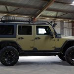 green kevlar 2014 jeep wrangler unlimited jk right side angle