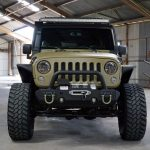 green kevlar 2014 jeep wrangler unlimited jk front angle