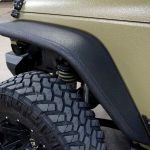 green kevlar 2014 jeep wrangler unlimited jk Rugged Ridge front steel tube fender flares 11615.48