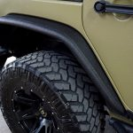 green kevlar 2014 jeep wrangler unlimited jk Rugged Ridge rear steel tube fender flares 11615.48