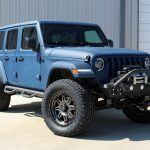 2018 jeep wrangler unlimited jl blue kevlar right front angle