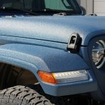 2018 jeep wrangler unlimited jl blue kevlar up close