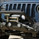 2018 jeep wrangler unlimited jl DV8 FS-11 winch mount front bumper with DV8 12,000lbs winch WB12SC