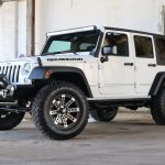 2016 jeep wrangler unlimited jk white front left angle