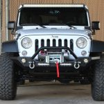 2016 jeep wrangler unlimited jk white front angle