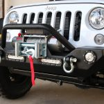 2016 jeep wrangler unlimited jk DV8 FS-7 front bumper Rough Country 9,500lbs winch PRO9500