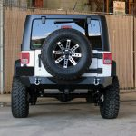 2016 jeep wrangler unlimited jk white rear angle