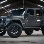 gray 2016 jeep wrangler unlimited jk left front angle