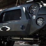 gray 2016 jeep wrangler unlimited jk Rock Slide Engineering winch mount front bumper FB-F-100-JK