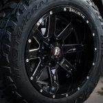 gray 2016 jeep wrangler unlimited jk 20×12 Ballistic 959 Rage 959212050-44GBX 35x12.50R20 Mastercraft Courser MXT tires
