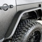2017 jeep wrangler unlimited jk rear DV8 flat fenders FENDB-02
