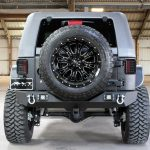 2017 jeep wrangler unlimited jk black & gray kevlar rear angle