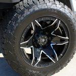 white 2019 jeep wrangler unlimited jl 20×12 RBP Wheels Quantum gloss black milled LT325/60R20 Nitto Terra Grappler A/T tires