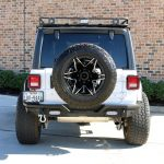 white 2019 jeep wrangler unlimited jl rear angle