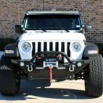 white 2019 jeep wrangler unlimited jl front angle