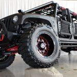 black kevlar 2014 jeep wrangler unlimited jk left front angle