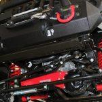 black kevlar 2014 jeep wrangler unlimited jk 4″ Skyjacker lift front JK401KCR