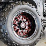 black kevlar 2014 jeep wrangler unlimited jk 20×12 RBP 89R wheels 38x15.50R20 Nitto Mud Grappler Extreme Terrain tires