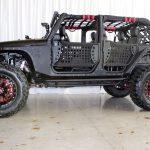 black kevlar 2014 jeep wrangler unlimited jk left side angle