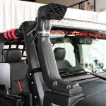 black kevlar 2014 jeep wrangler unlimited jk Rugged Ridge XHD snorkel intake 17756.21