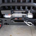 black kevlar 2014 jeep wrangler unlimited jk Rugged Ridge XHD front bumper 11540.51 Rugged Ridge heavy duty 10,500lbs winch