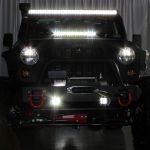 black kevlar 2014 jeep wrangler unlimited jk led lighting lit