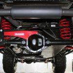 black kevlar 2014 jeep wrangler unlimited jk 4″ Skyjacker lift rear JK401KCR