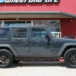 gray 2016 jeep wrangler unlimited jk right side angle