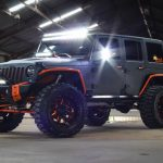 Graphite Kevlar® 2016 jeep wrangler unlimited jk left front angle