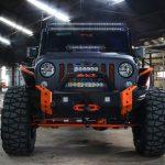 Graphite Kevlar® 2016 jeep wrangler unlimited jk front angle