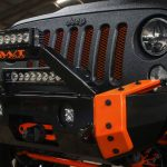 Graphite Kevlar® 2016 jeep wrangler unlimited jk VPR 4×4 Ultima front bumper Rigid Industries Radiance LED light bars