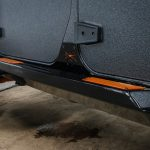 Graphite Kevlar® 2016 jeep wrangler unlimited jk Smittybilt XRC Atlas Rock Sliders with Steps