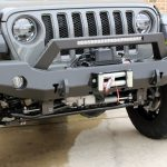 sting gray 2020 jeep wrangler unlimited jl Westin winch mount front bumper 59-80125