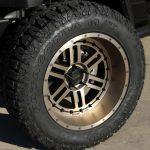 black 2020 jeep gladiator jt 22×12 Moto Metal MO800 Deep Six wheels 37x13.50R22 Milestar Patagonia M/T tires