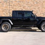 black 2020 jeep gladiator jt right side angle