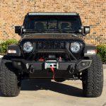 black 2020 jeep gladiator jt front angle