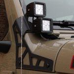 gator 2020 jeep gladiator jt DV8 A-pillar mount LBJL-02 DV8 3″ cube LED lights B3CE20W5W