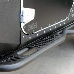 white 2018 jeep wrangler unlimited jk DV8 tubular steps SRSOTB-06