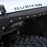 white 2018 jeep wrangler unlimited jk Smittybilt XRC Armor front fenders DV8 front inner fenders INFEND-01FB