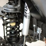 white 2018 jeep wrangler unlimited jk 3″ Zone lift J13N Fox 2.0 shocks front
